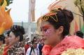 高清:北京花车巡游彩绘秀 本土与时尚融合
