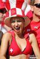 激情英格兰女球迷