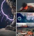 10大火山喷发奇景
