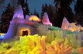高清:美轮美奂!瑞士修建冰宫如童话世界