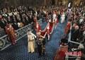 高清:英国新一届议会举行开幕大典 女王出席