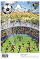 世界杯海报显非洲元素
