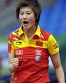 组图:女团决赛丁宁2-3冯天薇 中国0-1暂落后