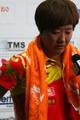 组图:女乒不敌新加坡丢冠 赛后流泪接受采访