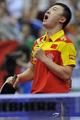 组图:男团决赛马琳两胜 中国3-1德国夺5连冠