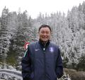 韩国队奥地利雪中登山
