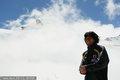 日本队造访冰山