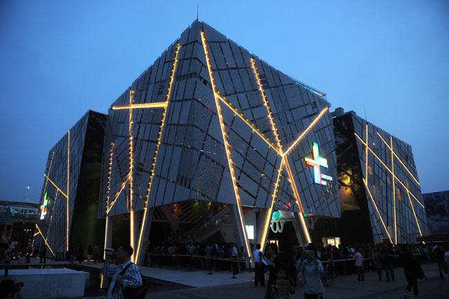高清:世博会瑞典馆 汇聚创意之光