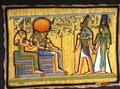 高清:埃及国粹——传承五千年的纸草画艺术