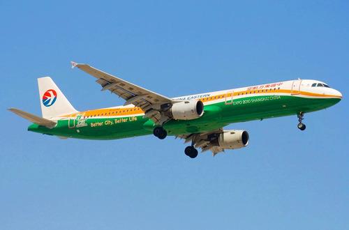 东方航空彩绘世博二号飞机