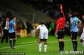 组图:法国0-0乌拉圭 洛德伊罗收获首张红牌