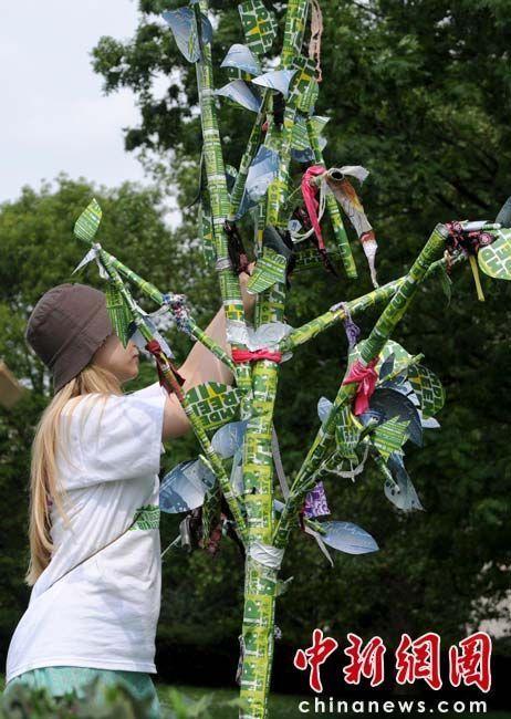伦敦卡姆登绿色市集 环保创意齐登场