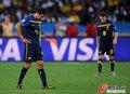 图文:德国VS澳大利亚 澳洲球员很失落