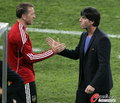 图文:德国VS澳大利亚 勒夫祝贺