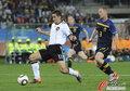 图文:德国VS澳大利亚克洛泽拿球