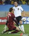 图文:德国VS澳大利亚 厄齐尔错失良机
