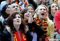图文:德国4-0澳大利亚 球迷疯狂庆祝(114)
