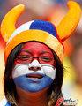 图文:荷兰2-0丹麦 球迷激情助威(246)