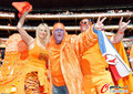 图文:荷兰2-0丹麦 球迷激情助威(250)