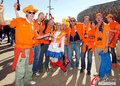 图文:荷兰2-0丹麦 球迷激情助威(253)