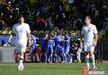 图文:新西兰1-1斯洛伐克 悲喜对比