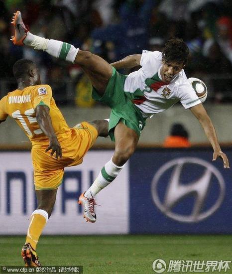 腾讯特评:葡萄牙为出线自宫 踢出最丑陋比赛