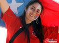 图文:洪都拉斯0-1智利 双方热情球迷(11)