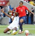 图文:洪都拉斯0-1智利 进球功臣受阻