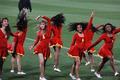 高清:巴西世界杯首战朝鲜 中场休息迎来热舞