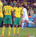 图文:南非0-3乌拉圭 失落东道主
