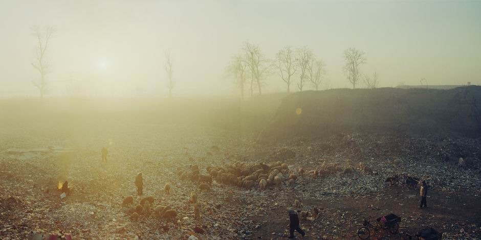 北京市通州区宋庄镇疃里社区(图片摄于2009年1月,北纬39°56′36″ 东经116°42′18″)