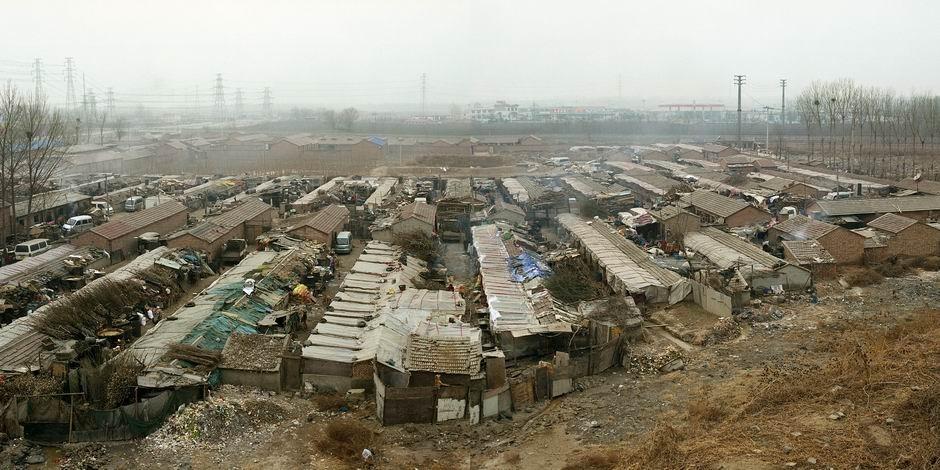 北京市通州区永顺镇(图片摄于2009年12月,北纬39°53′36″ 东经116°36′38″)