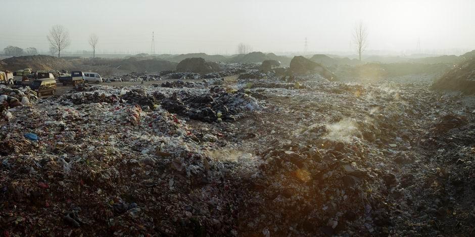 北京市昌平区沙河镇沙河水库西岸(图片摄于2010年1月,北纬40°07′46″ 东经116°17′45″)