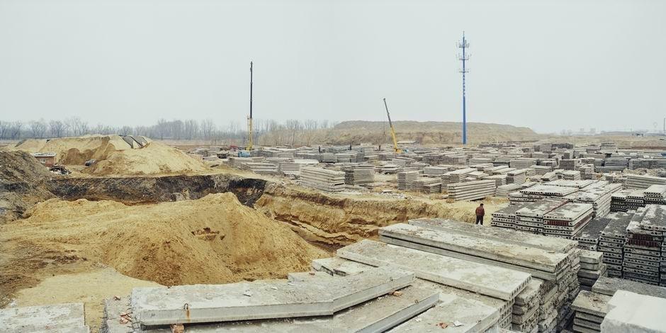 北京市朝阳区孙河乡(图片摄于2009年3月,北纬40°04′04″ 东经116°27′43″)