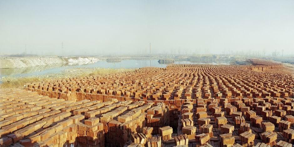 北京市顺义区后沙峪镇古城(图片摄于2009年3月,北纬40°06′22″ 东经116°29′48″)