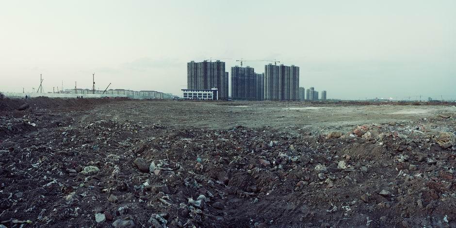 北京市经济技术开发区(扩地西区)(图片摄于2009年4月,北纬39°45′09″ 东经116°29′35″)
