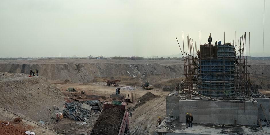 北京市丰台区长辛店镇(图片摄于2010年4月,北纬39°52′22″ 东经116°11′20″)