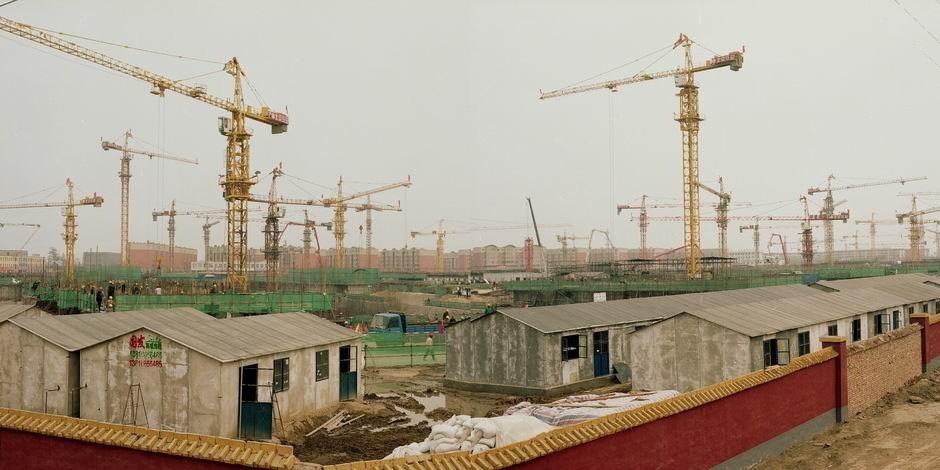 北京市通州区台湖镇次渠(图片摄于2010年4月,北纬39°48′28″ 东经116°34′09″)
