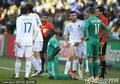 图文:希腊VS尼日利亚 球场混乱