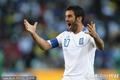 图文:希腊VS尼日利亚 表示不满