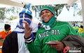 图文:希腊VS尼日利亚 双方球迷加油助威(11)