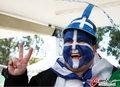 图文:希腊VS尼日利亚 双方球迷加油助威(12)