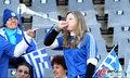 图文:希腊VS尼日利亚 球迷激情助威(8)