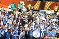 图文:希腊VS尼日利亚 球迷激情助威(10)