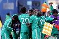图文:希腊2-1尼日利亚 尼日利亚庆祝进球
