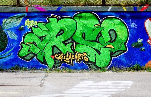 国外精彩街头涂鸦作品欣赏