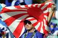 图文:荷兰VS日本 球迷助威比赛(13)