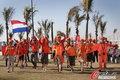 图文:荷兰VS日本 球迷助威比赛(14)