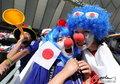 图文:荷兰VS日本 球迷助威比赛(17)