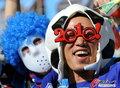 图文:荷兰VS日本 球迷助威比赛(19)